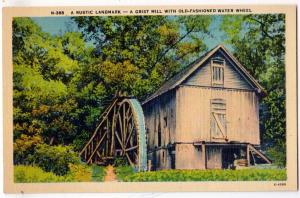 Grist Mill - Water Wheel