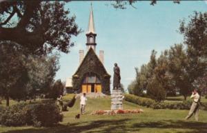 Canada Nova Scotia Grand Pre Replica Of Church Of St Charles