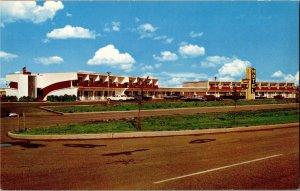 Golden West Motor Hotel Regina Saskatchewan Vintage Postcard R19