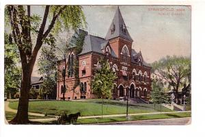 Public Library, Springfield, Massachusetts, Mason Bros