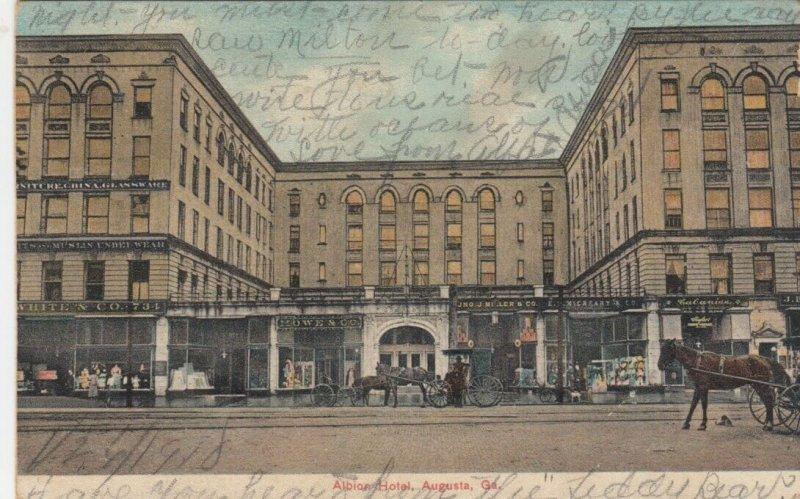 AUGUSTA , Georgia, 1910 ; Albion Hotel