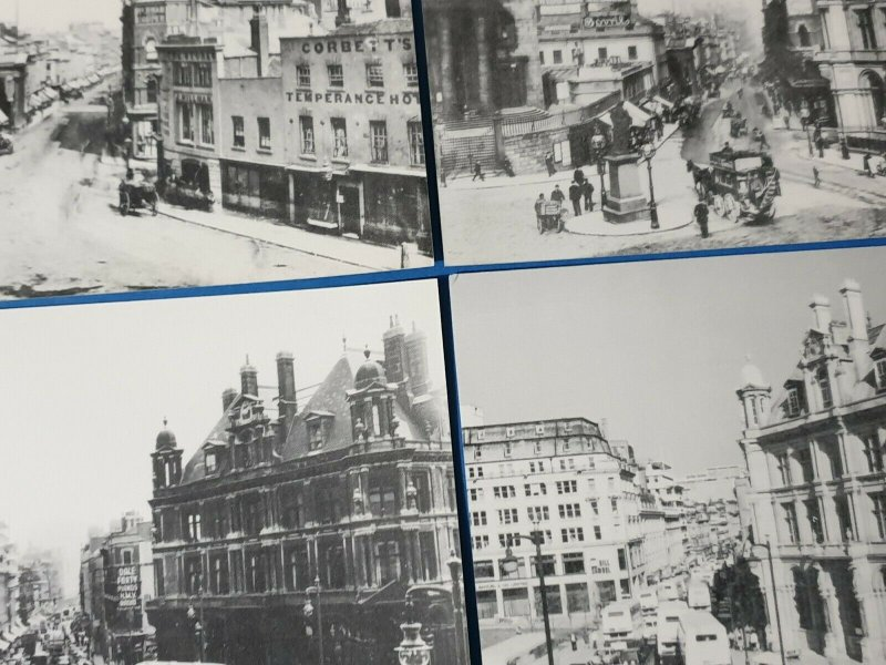 Set of 4 Postcards, Victoria Square Post Office, Birmingham 1875-1980 BT0