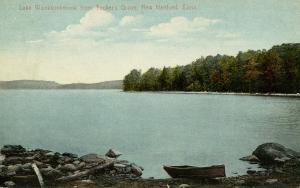 CT - New Hartford. Lake Wonksunkmunk from Tucker's Grove