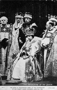 The Enthroning of the Queen Elizabeth II, Coronation Day