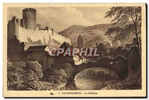 Old Postcard Kaysersberg Le Chateau