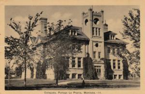 PORTAGE LA PRAIRIE , Manitoba, Canada , 1941 ; Collegiate