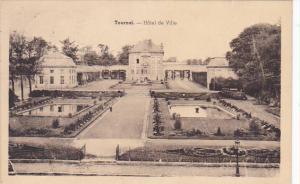 Belgium Tournai Hotel de Ville 1919