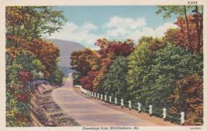 Kentucky Greetings From Middlesboro Curteich
