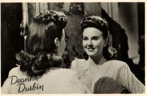 CPA Artiste Cinema Film DEANNA DURBIN (31014)