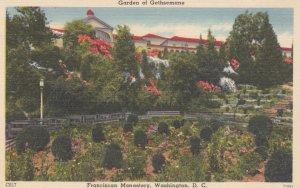 WASHINGTON D.C. 1930-40s; Garden of Gethsemane, Franciscan Monastery