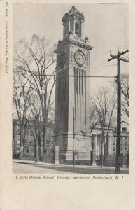 PROVIDENCE , Rhode Island , 1901-07 ; The Carrie Tower , Brown University # 2