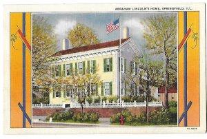 Abraham Lincoln's Home Springfield Illinois