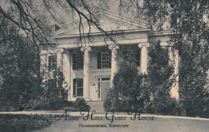 Kentucky Harrodsburg Aspen Hall Guest House Curteich