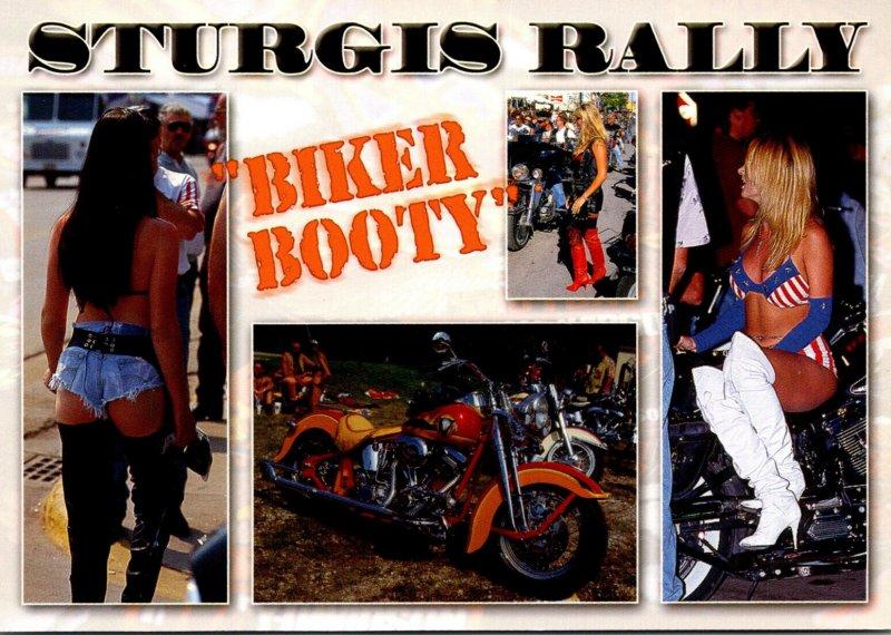 South Dakota Black Hills Sturgis Motorcycle Rally Biker Booty