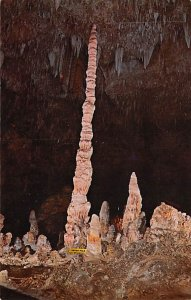 Caves Post Card Totem Pole Carlsbad Caverns National Park, New Mexico, USA Un...