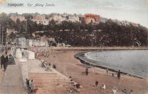 England Torquay Tor Abbey Sands 1928
