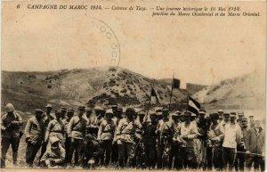 CPA AK Colonne de TAZA Une journée historique le 16 Mai 1914 MAROC (689310)