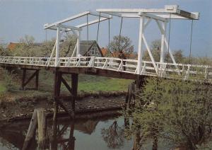 Altes Land Hoogediek Bruecke uber die Luhe Bridge