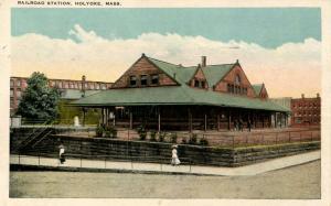 MA - Holyoke.  Railroad Station