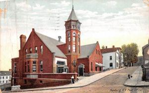 Post Office Newburgh, New York Postcard