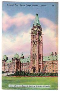 General View, Peace Tower, Ottawa Canada