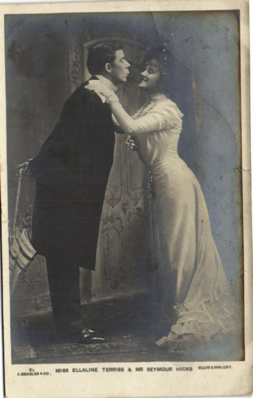 CPA Miss Ellaline Terriss & Mr Seymour Hicks Artiste THEATRE (42224)