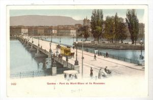 2346 Switzerland Geneve  Pont du Mont-Blanc et lle Rousseau