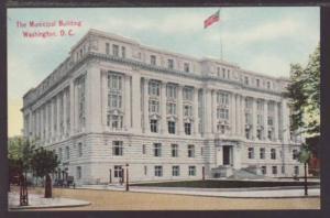 Municipal Building Washington DC Postcard 4569