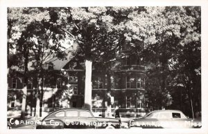 LPSS15 Clarksdale Mississippi Coahoma County Court House Postcard RPPC