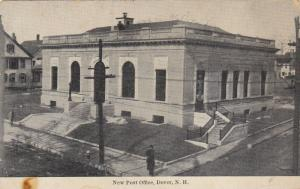 New Post Office, Dover, New Hampshire, 1910-1920s