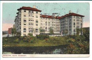 Boston, MA - Hotel Somerset - 1907