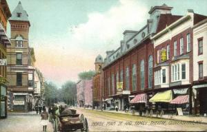 Gloversville, N.Y., North Main Street and Family Theatre (1916)