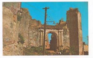 Santo Domingo, Dominican Republic  Convento de San Francisco Monument, 40-60s
