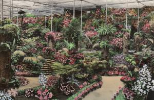 LISBOA, Portugal, 50-60s; Estufa Fria, Greenhouse