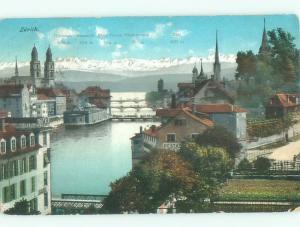 Divided-Back NICE VIEW Zurich Switzerland i5121