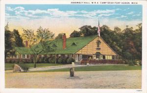 Near PORT HURON, Michigan, 10-30s; Assembly Hall W. B. A. Camp