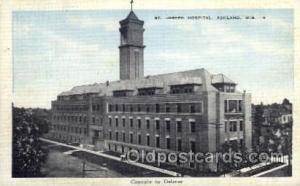 St. Joseph Hospital, Ashland, Wisconsin, USA, Medical Hospital Postcard Postc...