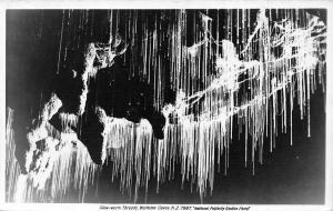 New Zealand N.Z. Waitomo Caves, Glow-worm Threads, Postcard