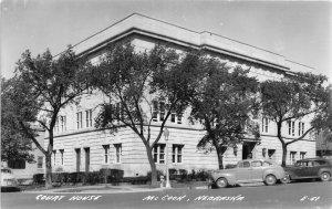F53/ McCook Nebraska RPPC Postcard c1940s Court House Building