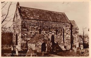 uk15268 escombe church bishop auckland  real photo  uk