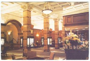 UK, The London Savoy, Front Hall, used Postcard