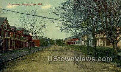 Broadway Hagerstown MD 1912