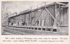 Advertising Half A Million Bushels Of Washington White Wheat Used In Making M...