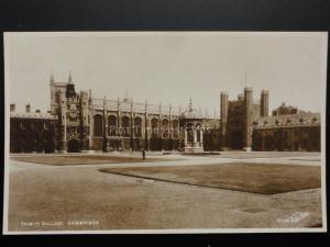 Cambridge: TRINITY COLLEGE (2) Old RP Postcard By Walter Scott 140515