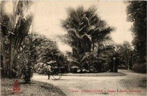 CPA AK INDOCHINA Saigon Jardin Botanique VIETNAM (956617)