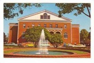 Eastern North Carolina College, Wright Auditorium, Greenville, North Carolina...