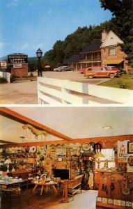 MA - Williamstown. Berkshire Hills Motel, Early America Gift Shop