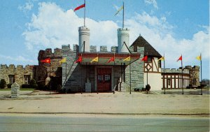 NY - Olean. The Castle Restaurant