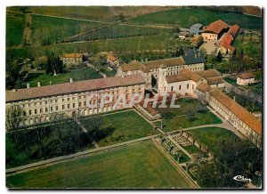 Modern Postcard Abbey Citeaux Nuits St Georges Aerial View General