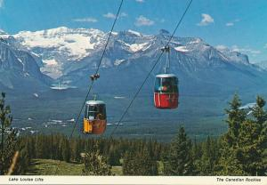 Lake Louise Aerial Lifts - Canadian Rockies AB, Alberta, Canada